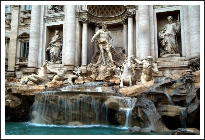 La fontaine de Trevi 20040301115348