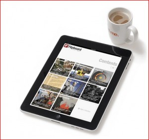 Photo of Flipboard on an iPad